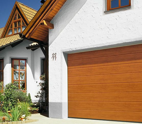 sectional garage doors installed by our experts
