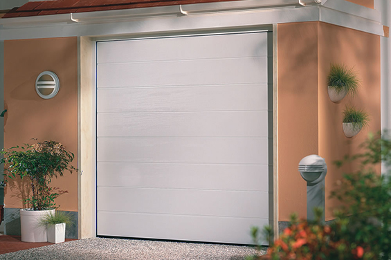 fully automated garage door